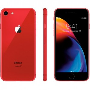 IPhone 8 RED 256 GB  com Tela de 4,7, 4G, Câmera de 12 MP - Apple