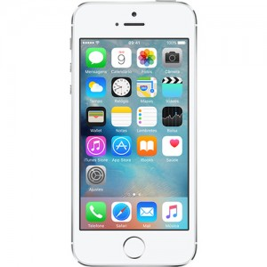IPhone 5s 16GB Prata IOS 8 Wi-Fi Bluetooth Câmera 8MP - Apple