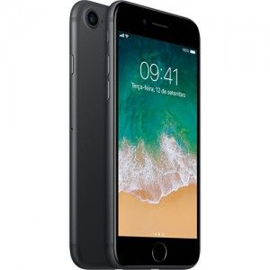IPhone 7 32GB Preto Matte IOS 10 Wi-Fi Bluetooth Câmera 12MP - Apple
