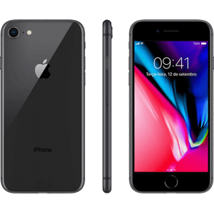 IPhone 8 256GB Cinza Espacial com Tela de 4,7,  4G, Câmera de 12 MP - Apple