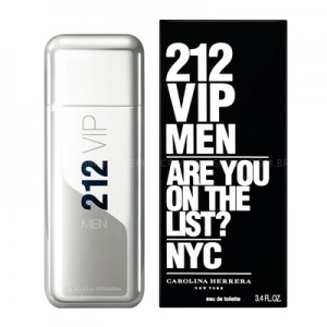 Perfume 212 VIP Men EDT Masculino 100ml Carolina Herrera