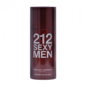 Desodorante 212 Sexy Men Spray Masculino 150ml Carolina Herrera
