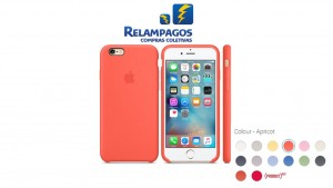 Capa de silicone para iPhone 6s - Damasco