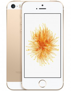 IPhone SE 16GB Dourado IOS 9 Wi-Fi Bluetooth Câmera 12MP - Apple