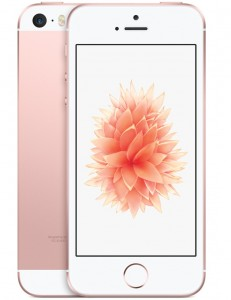 IPhone SE 32GB Dourado Rosê IOS 9 Wi-Fi Bluetooth Câmera 12MP - Apple