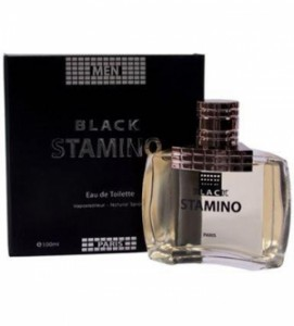 Perfume masculino stamino black edt 100ml