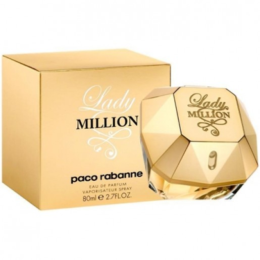 Perfume Lady Million EDP Feminino 80ml Paco Rabanne