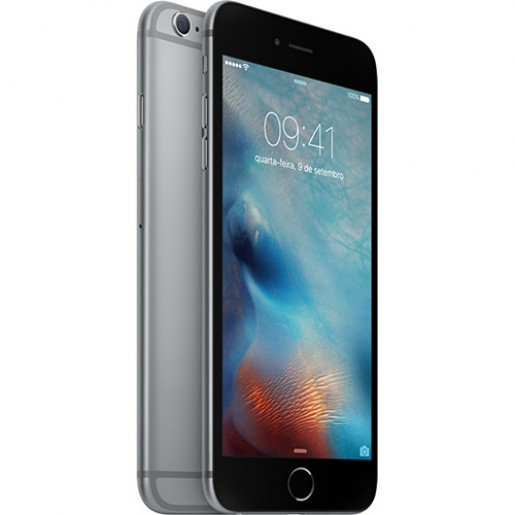 IPhone 6s Plus 128GB Cinza Espacial IOS 9 Wi-Fi Bluetooth Câmera 12MP - Apple