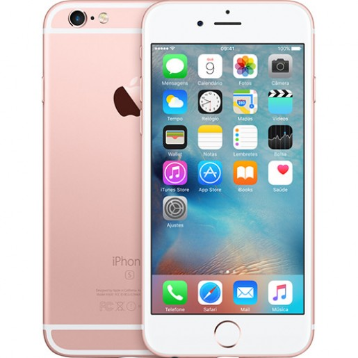 IPhone 6s Plus 32GB Dourado Rosê IOS 10 Wi-Fi Bluetooth Câmera 12MP - Apple
