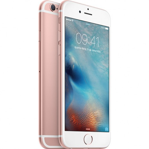IPhone 6s Plus 128GB Dourado Rosê IOS 9 Wi-Fi Bluetooth Câmera 12MP - Apple