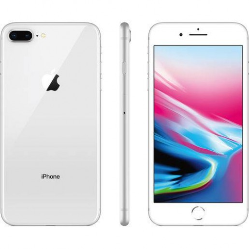 IPhone 8 Plus 64GB Prata com Tela de 5,5,  4G, Câmera de 12 MP - Apple