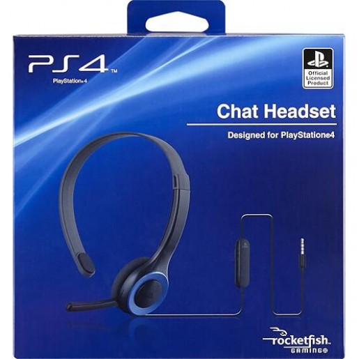 Microfone Chat Headset Playstation 4