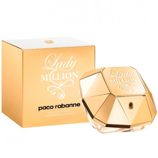 Perfume Lady Million EDT Feminino 80ml Paco Rabanne