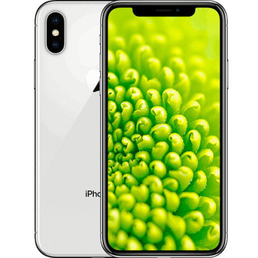 IPhone X 256GB Prata Tela OLED sem bordas Multi-Touch de 5,8, 4G, Câmera de 12 MP - Apple