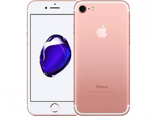 IPhone 7 128GB Ouro Rosa IOS 10 Wi-Fi Bluetooth Câmera 12MP - Apple
