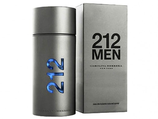 Perfume 212 Men EDT Masculino 100ml Carolina Herrera